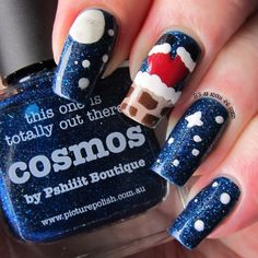 christmas by graciezac #nail #nails #nailart