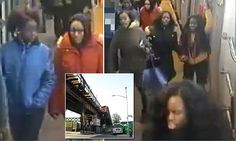Six girls 'punched woman and stole her phone' on New York subway