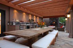 Outdoor Kitchens - European Timberframe Corp