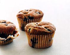 Cinnamon Blueberry Muffins Recipe  at Epicurious.com
