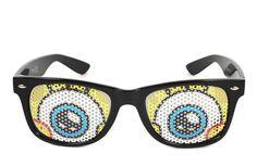 Nunettes Sponge Bob Sunglasses Let You See The World Through Beady Eyes