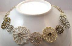Floral Kingdom Necklace in Creme Fraiche - Beloved Beadwork