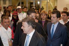 Presidente Juan Manuel Santos Calderón en evento de clausura de Worldskills 2012