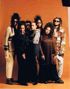 Soul II Soul...A happy face, a thumpin' bass for a loving race.