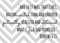 Hebrew6:15