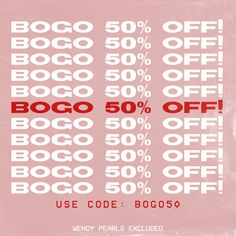 BOGO Sale Graphic for @juneandbeyond by @briknopf