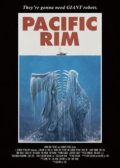 Pacific Rim / Jaws mashup  This movie is going to be freakin amazing! Description from pinterest.com. I searched for this on bing.com/images