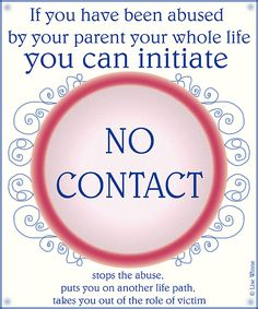 "Misadventures with Angry Alcoholics, Bullies and Narcissists: Should you go ""no contact"" with an abusive parent ..."