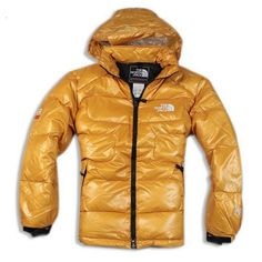 The North Face Men's Nuptse Down Jacket Yellow