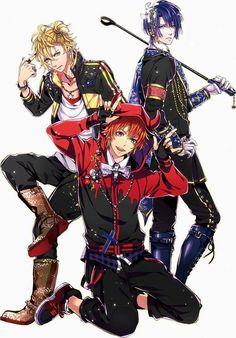Natsuki, Otoya and Masato - Uta no Prince-sama