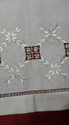 Sarma tekniği Textile Patterns, Color Patterns, Embroidery Patterns, Print Patterns, Pattern Mixing, Pattern Blocks, Drawn Thread, Hardanger Embroidery, Bargello