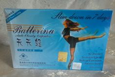 Ballerina Slimmer & Finer Skin  Slimming  Capsule Weight Loss Diet Pills #Ballerina #WeightLossPillsCapsules Reduce Weight, How To Lose Weight Fast, Chinese Herbs, Weight Loss Surgery, How To Slim Down, Diet Pills, Weight Loss Program, Health And Beauty, Ballerina