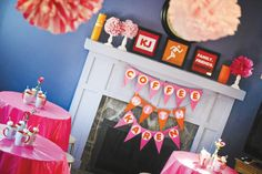 Dunkin Donuts Party Theme {50th Birthday}