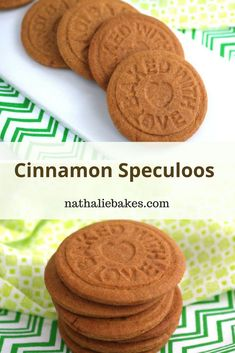 Recipe for cinnamon speculoos by the good Christophe Felder! Crunchy and crumbly cookies with the scrumptious scent of cinnamon. Speculaas Cookie Recipe, Speculoos Cookies, Biscotti Cookies, Galletas Cookies, Brownie Cookies, Cookie Bars, Speculoos Recipe, Chefs, Cookie Recipes