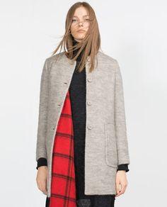 MOHAIR COAT-Coats-Outerwear-WOMAN | ZARA United States
