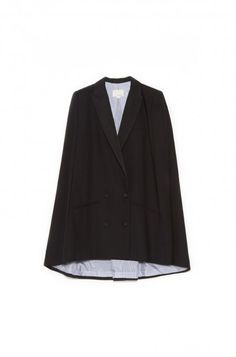 Peak Lapel Cape by Band Of Outsiders