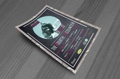 Signature 4th Encounter Flyer Design Flyer Design, Flyers, Polaroid Film, Cover, Ruffles, Leaflets