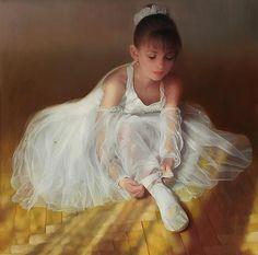 "Russian Artist-""Maria Boohtiyarova and Andrei Belichenko"" Ballerina Art, Ballet Art, Classic Paintings, Beautiful Paintings, Dance Paintings, Painting Art, Ballet Pictures, Hyper Realistic Paintings, Master Of Fine Arts"