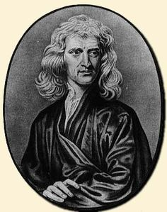 Isaac Newton - Scientist: famous people with bipolar