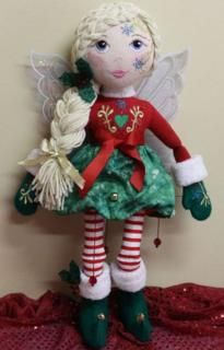 Secrets of Emb - Designs By Louisa Meyer Originals  Jingles Doll