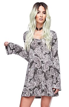 $39.95  Bell Sleeve Dress