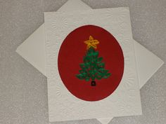 2D Quilled Christmas Card with Quilled by LadyJPaperGarden on Etsy, $5.00