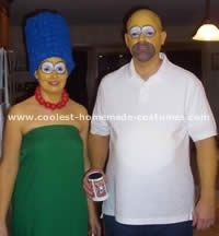 coolest homemade simpsons halloween costumes simpsons halloween halloween costumes and costumes - Simpson Halloween Costume