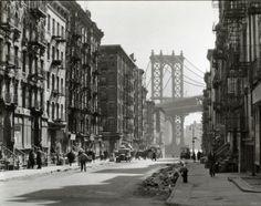 New York City 1935-1938 by Berenice Abbott.