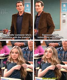 "#GirlMeetsWorld 2x10 ""Girl Meets the New Teacher"""