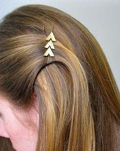 Art For All: Hunger Games Katniss-Inspired Hair Clip