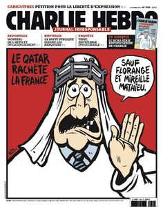 Charlie Hebdo - # 1059 - 3 Octobre 2012 - Couverture : Riss