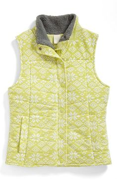 Zella Girl 'Chalet' Vest (Little Girls & Big Girls) available at #Nordstrom