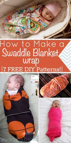 7 Baby Swaddle Free Patterns