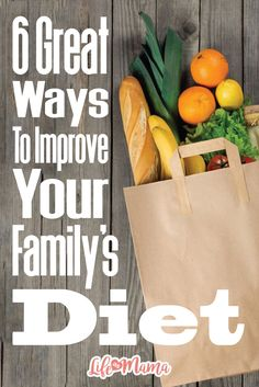 Both kids and adults should eat a full, healthy diet full of fruits, veggies, fiber, and protein. Getting your family to stray away from everything that they hold dear, especially when it comes to food, can be really hard. So here are a few simple tips to get you started. Happy eating!