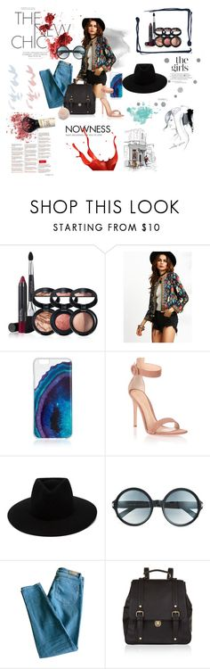 """The New Chic"" by laurena-jsp-ntm ❤ liked on Polyvore featuring Laura Geller, WithChic, Gianvito Rossi, rag & bone, Tom Ford, Sandro, Accessorize, Furla and GE"