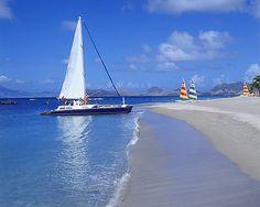 Nevis - Beach at FS