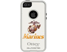 Otterbox Commuter Series US Marines Hybrid Case for Apple iPhone 5/5S - W-617