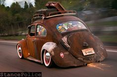rat rods stance vw
