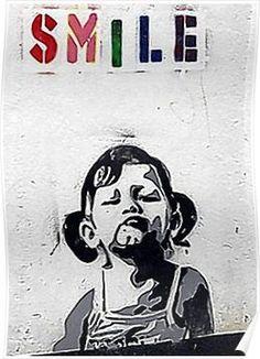 A selection of graffiti and street art by British artist Banksy. Banksy Graffiti, Banksy Posters, Street Art Banksy, Bansky, Banksy Artwork, Banksy Quotes, Art Posters, Art Mur, Wall Art