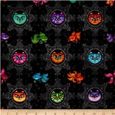 Online Shopping for Home Decor, Apparel, Quilting & Designer Fabric Rag Quilt, Quilts, Sewing Crafts, Sewing Projects, Dan Morris, Cat Fabric, Sewing Stores, Mandala Design, Cool Wallpaper