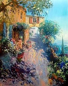 Laurent Parcelier was born in 1962 in France. Interested in art from an early age, Parcelier attended the Applied Arts School in Dordogne. Dappled Light, Modern Art Paintings, Light Painting, Art Music, Painting Inspiration, Art Pictures, Watercolor Art, Cool Art, Art Gallery
