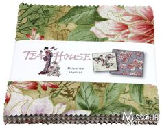 Tea House Charm Pack for Benartex Fabrics SKU