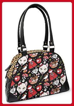 Liquorbrand Little Red Riding Hood Fairytale Rockabilly Alternative Bag Purse - Shoulder bags (*Amazon Partner-Link)