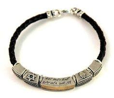 Metal unisex bracelet