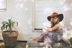 Children of the Tribe Boho Kid Hippy Kid - Summer Safari Maxi Dress