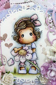 DeeDee´s Card Art: ♥ He Loves Me Tilda ♥