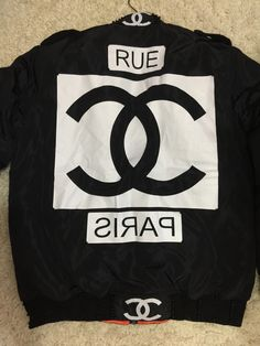 Chanel vintage bomber jacket as seen as on #gdragon MA-1  #Nike x #chanel #coco #chaneljersey #chanelnike #nikechanel    Must email evanesceonline@gmail.com for prices and stock availability.   #サンローラン #ユニクロ  #足元倶楽部 #シュプリーム  #シャネル  #ナイキ  #クロムハーツ  #ヴィンテージ #バルマン #ゴローズ #エイプ
