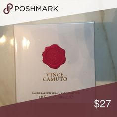 Vince Camuto Eau de parfum 1.0 fl oz Notes: rum, osmanthus, rose, leather, night blooming jasmine, vanilla absolute, patchouli, amber and skin musk. Vince Camuto Other