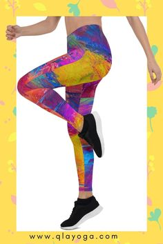 Let's the colours spice up your practice  #uniqueleggings #stunningleggings #boholeggings #yogaleggings #festivalllegings #yogapants #yogaleggings #gymleggings #workoutleggings #fitnessleggings #gympants #stretchpants #yogawear #gymwear #fitnesswear #yogaoutfit #gymoutfit #workoutoutfit #workoutfashion #yogaclothes #festivalclothing #festivalclothes #colourfulleggings #vibrantleggings Patterned Leggings, Printed Leggings, Colorful Leggings, Dance Leggings, Women's Leggings, Festival Wear, Festival Outfits, Yoga Pants Pattern, Gym Pants
