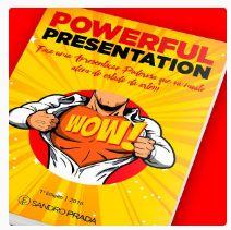 POWERFUL PRESENTATION   Sua apresentação indo muito além do estado da arte! O E-book Powerful Presentation é um livro digital inédito que reune, em mais de 100 páginas, um conteúdo exclusivo para você acertar em cheio em suas apresentações e propostas. De forma didática e ilustrativa, o livro ensina como deve ser elaborada uma apresentação impactante, que envolva e atraia a atenção do público e que gere negócios e vendas. https://go.hotmart.com/N4955977Y #PreçoBaixoAgora #MagazineJC79